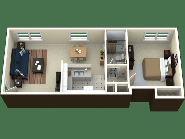 Best 1 Bed 1 Bath Apartment In Royal Oak Mi Arlington With Pictures