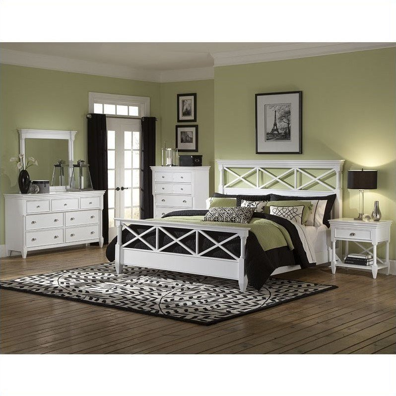 Best Magnussen Kasey Panel Bed In White B2026 X4 With Pictures
