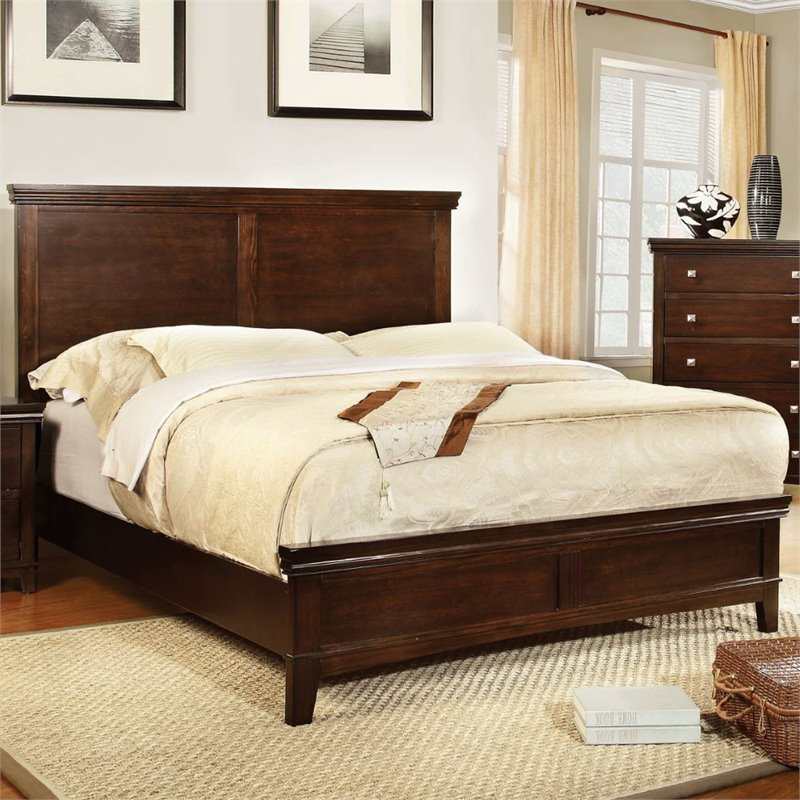 Best Furniture Of America Fanquite 2 Piece Queen Bedroom Set In With Pictures