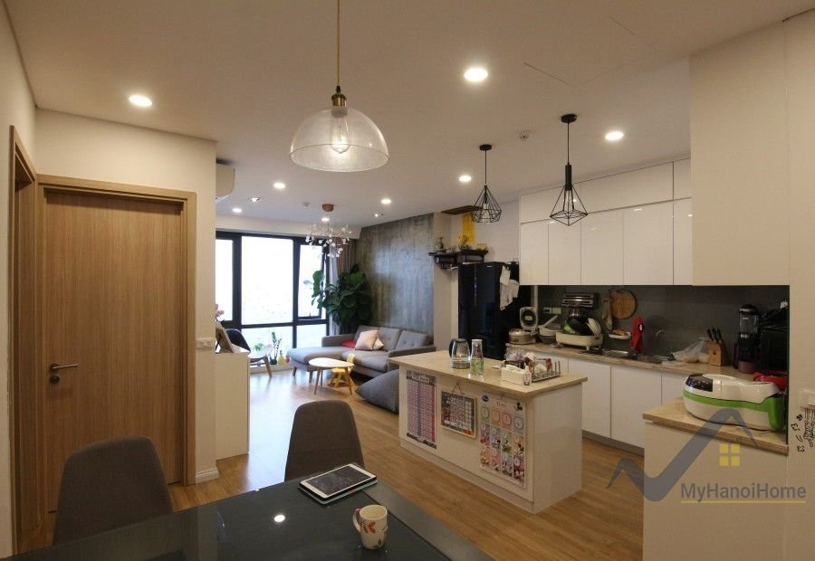 Best Spacious Furnished 2 Bedroom Apartment In Mipec Long Bien With Pictures