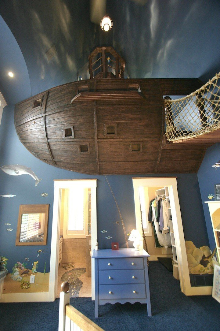 Best Pirate Ship Bedroom By Designer Steve Kuhl Is A Kid S With Pictures