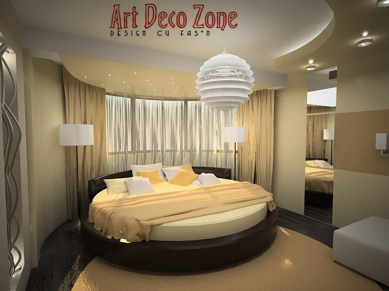 Best Bedroom With Round Bed 1 By Artdecozone On Deviantart With Pictures