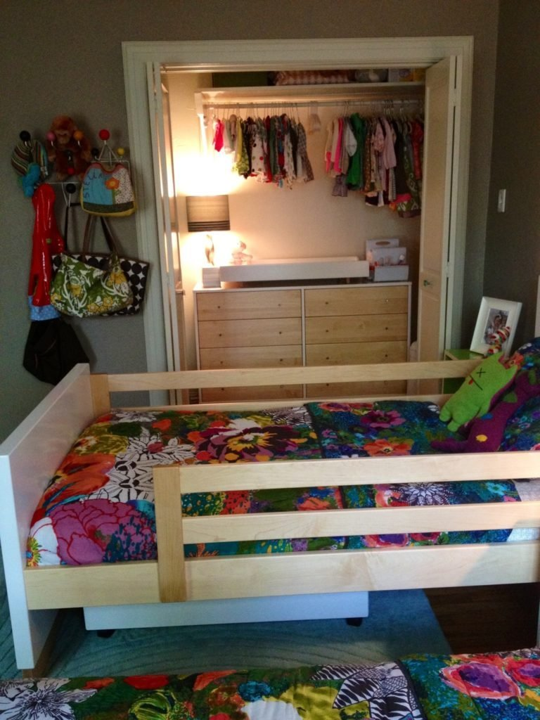 Best Toddler Newborn Shared Room Project Nursery With Pictures