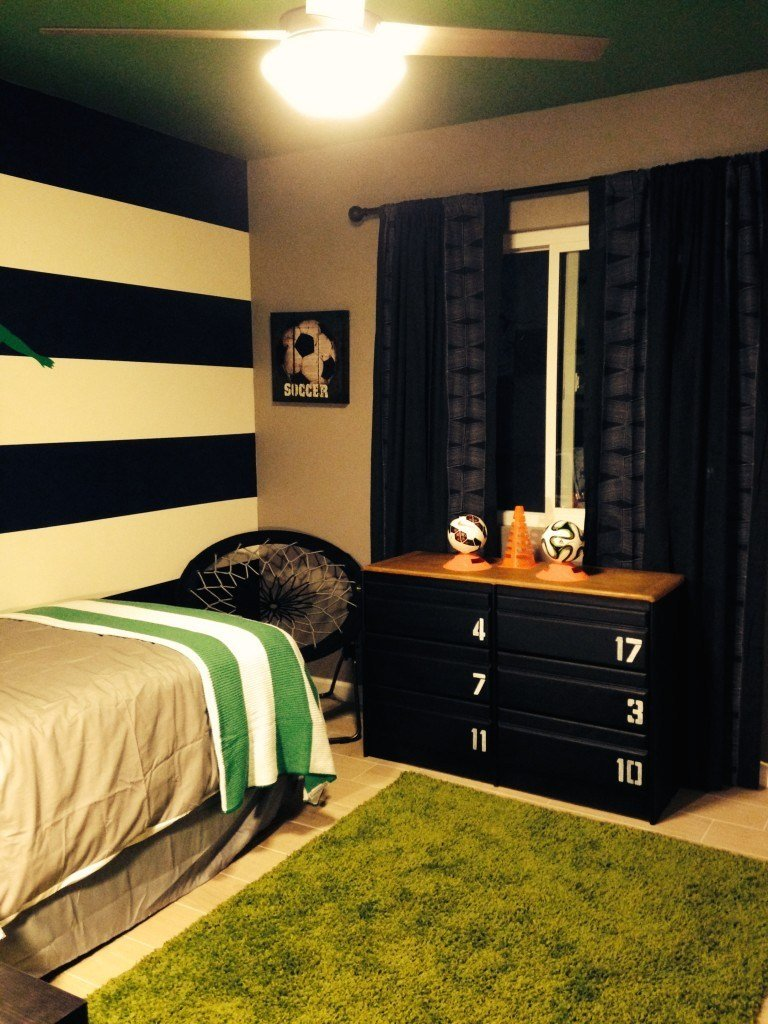 Best Boys Soccer Bedroom Project Nursery With Pictures