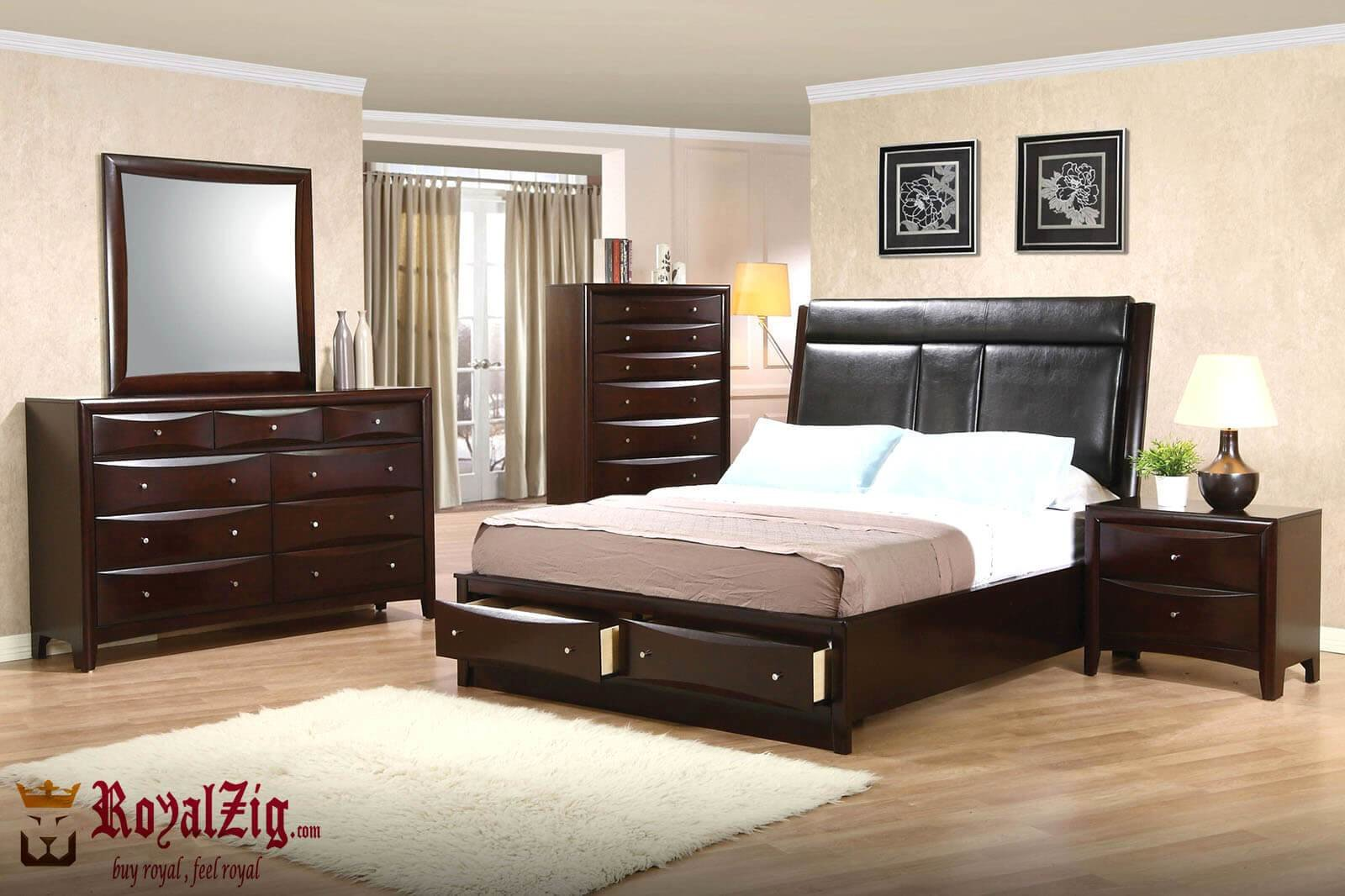 Best Solid Wood Modern Master Bedroom Set With Pictures