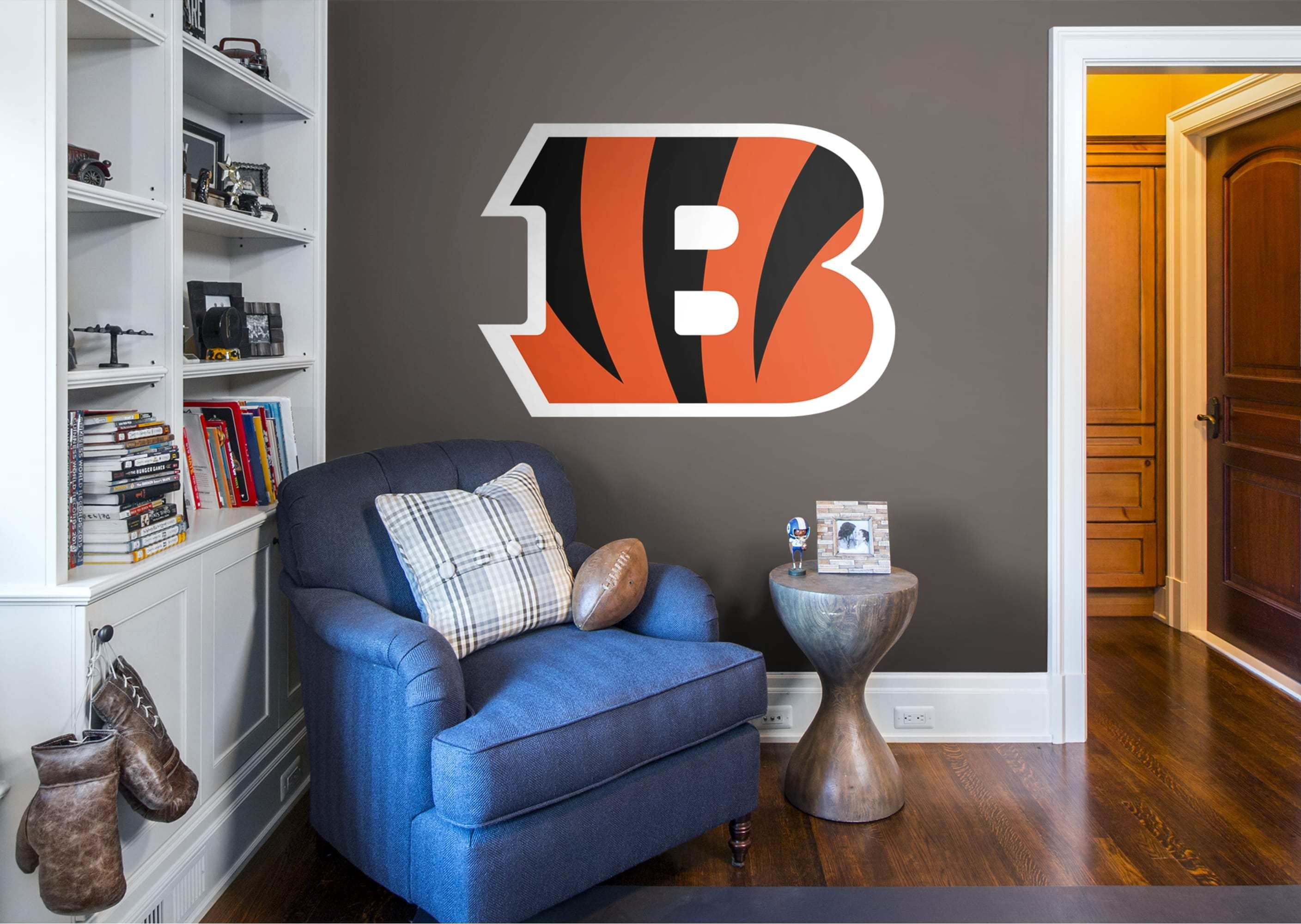 Best Cincinnati Bengals Logo Wall Decal Shop Fathead® For With Pictures
