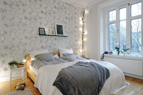 Best Bed Bedroom Gray Home Wallpaper Image 423766 On With Pictures