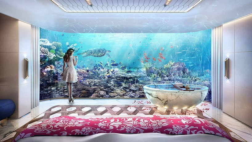 Best Floating Seahorse Signature Edition S Underwater Bedrooms With Pictures