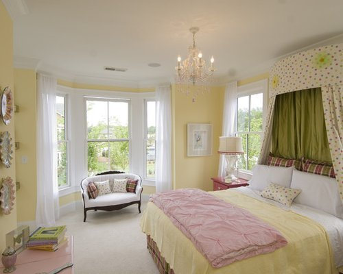 Best Yellow Paint Bedroom Design Ideas Remodel Pictures Houzz With Pictures