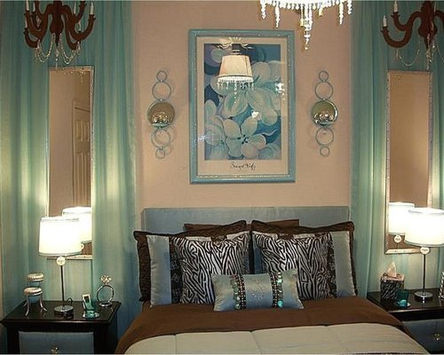 Best Aqua And Brown Bedroom Ideas Pictures Remodel And Decor With Pictures