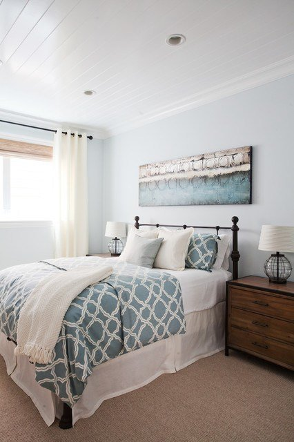 Best Coastal Luxe Beach Style Bedroom Orange County By Lindye Galloway Interiors With Pictures