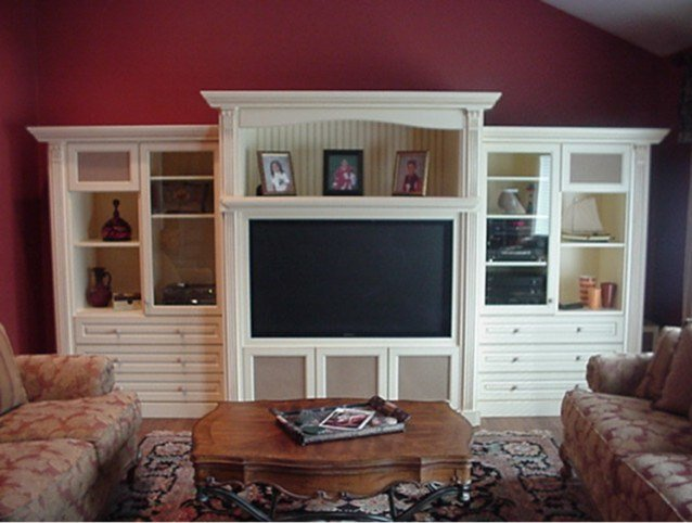 Best Custom Wall Units Traditional Family Room New York By Cleary Custom Cabinets With Pictures