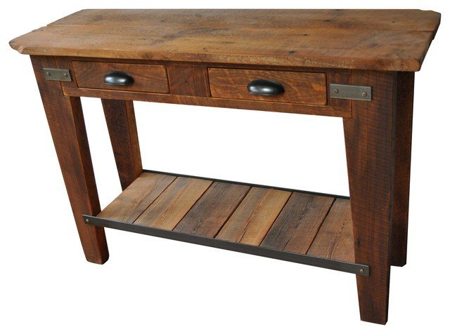 Best Tall Side Table With 2 Drawers Rustic Side Tables And With Pictures