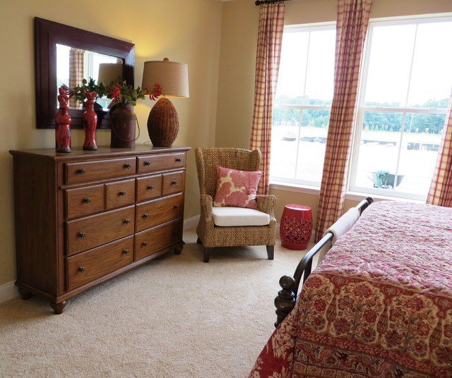 Best Red Tan And Cream Casual Cottage Style Eclectic With Pictures