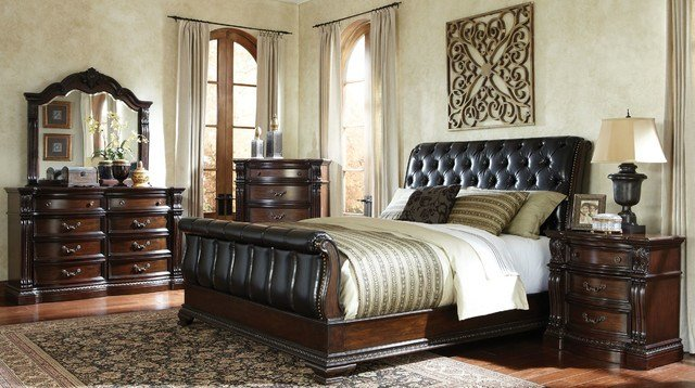 Best Churchill Bedroom Set Traditional Bedroom Columbus By American Freight Furniture And With Pictures