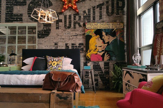 Best Comic Book Executive Industrial Bedroom Toronto By With Pictures