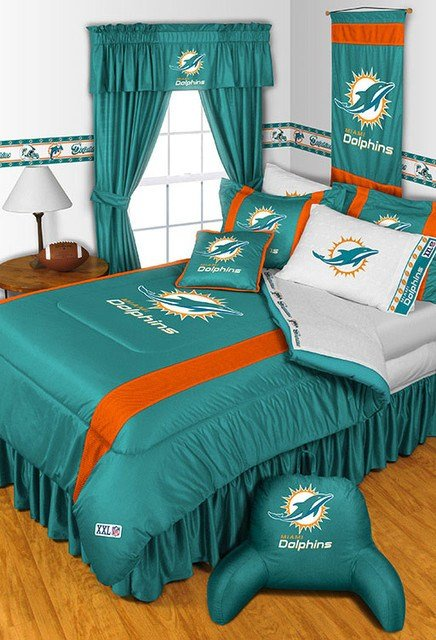 Best Nfl Miami Dolphins Bedding And Room Decorations Modern With Pictures
