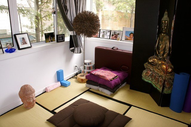 Best Yoga Meditation Room Asian Bedroom Other By With Pictures