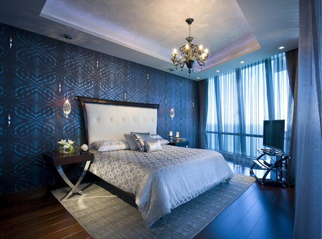 Best Pfuner Design Jade Ocean P*Nth**S* Eclectic Bedroom With Pictures