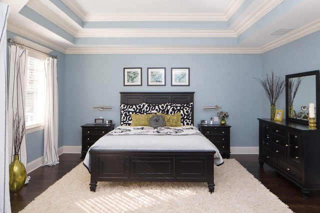 Best Master Bedroom With Triple Tray Ceiling Traditional With Pictures