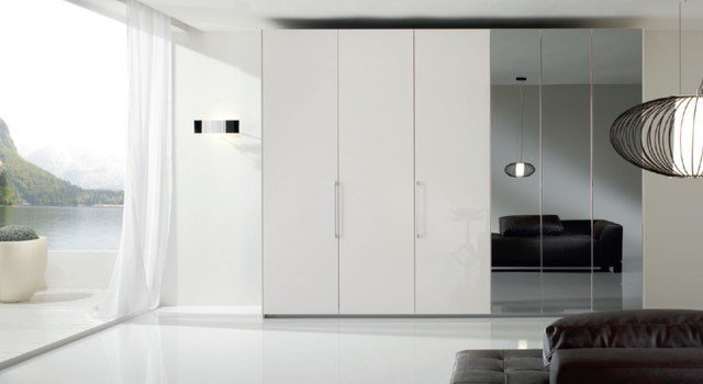 Best 6 Doors Modern Bedroom Closet Bony Mirror By Spar Italy With Pictures