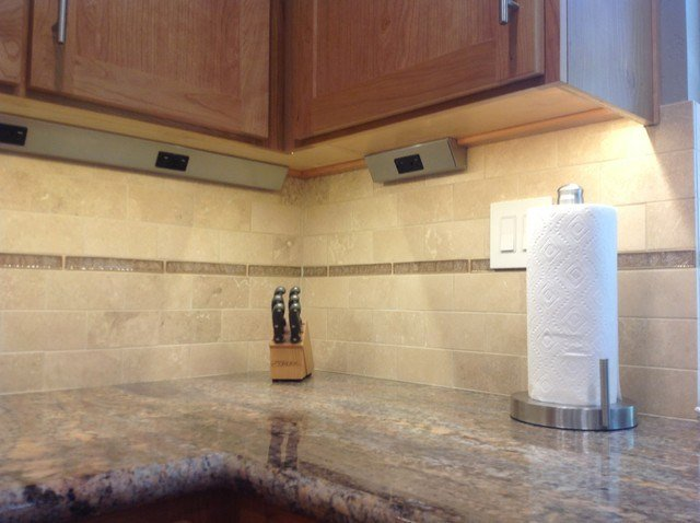 Best Hidden Under Counter Outlets Traditional Kitchen San With Pictures