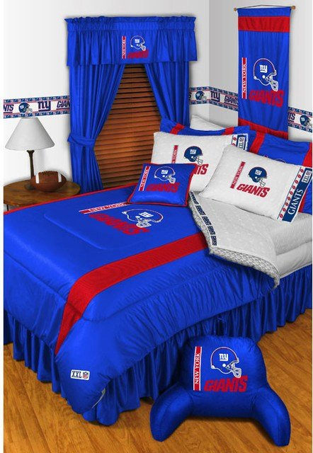 Best Nfl New York Giants Bedding And Room Decorations Modern With Pictures