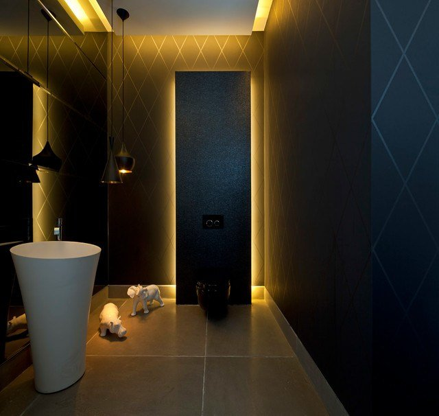 Best Luxury Villa In Israel Modern Powder Room Other With Pictures