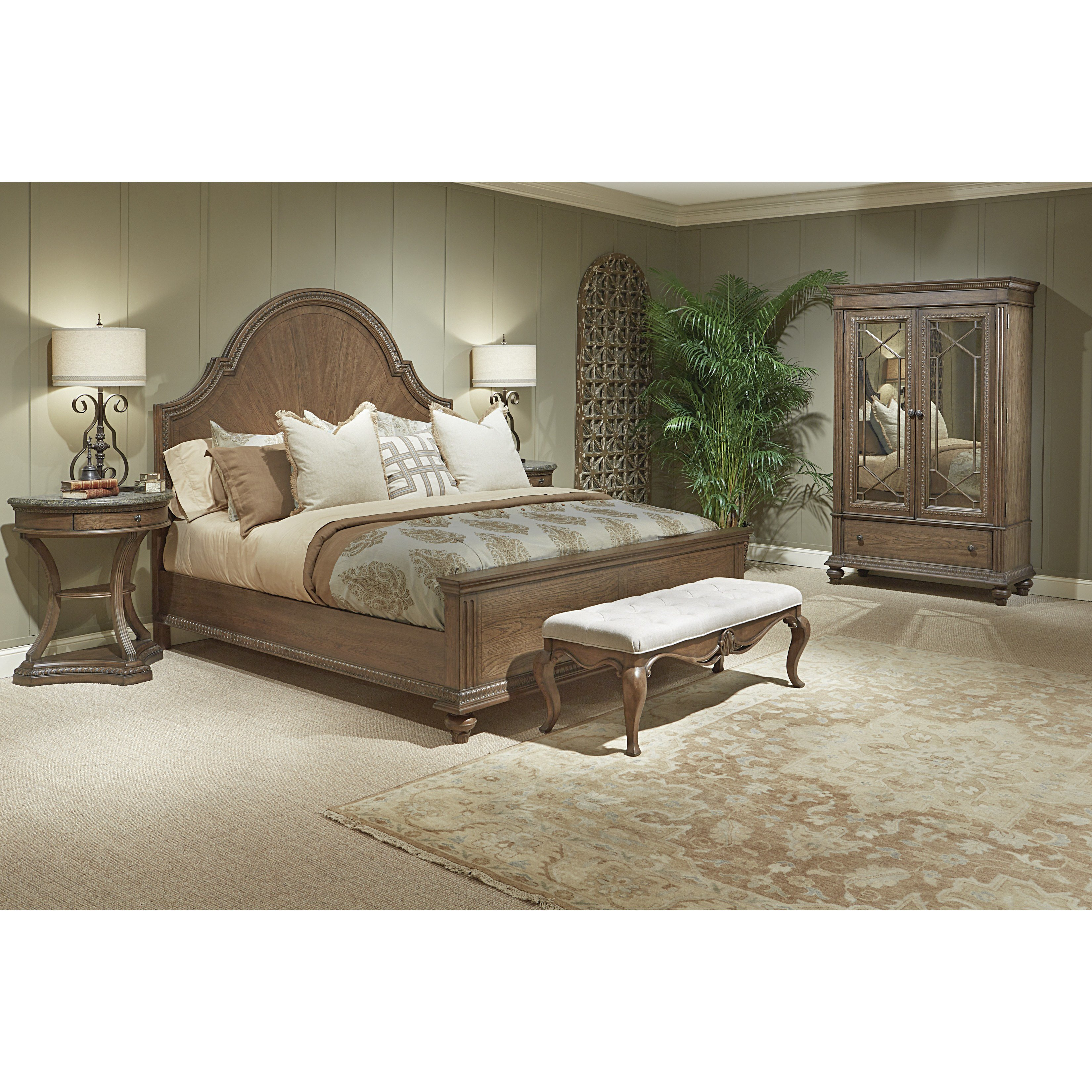 Best Legacy Classic Furniture Renaissance Arched Panel Customizable Bedroom Set Reviews Wayfair With Pictures