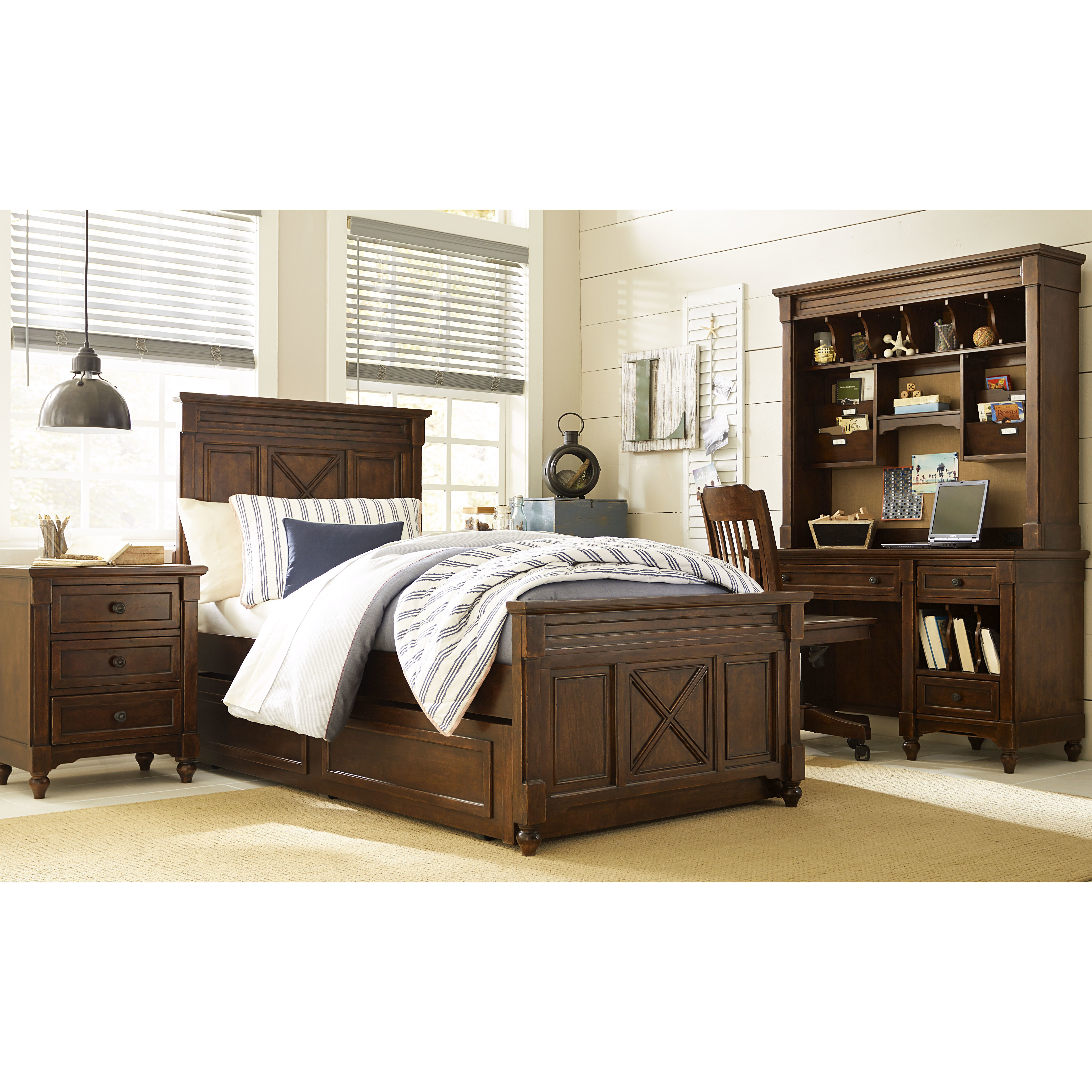 Best Lc Kids Big Sur By Wendy Bellissimo Twin Panel Customizable Bedroom Set Reviews Wayfair With Pictures