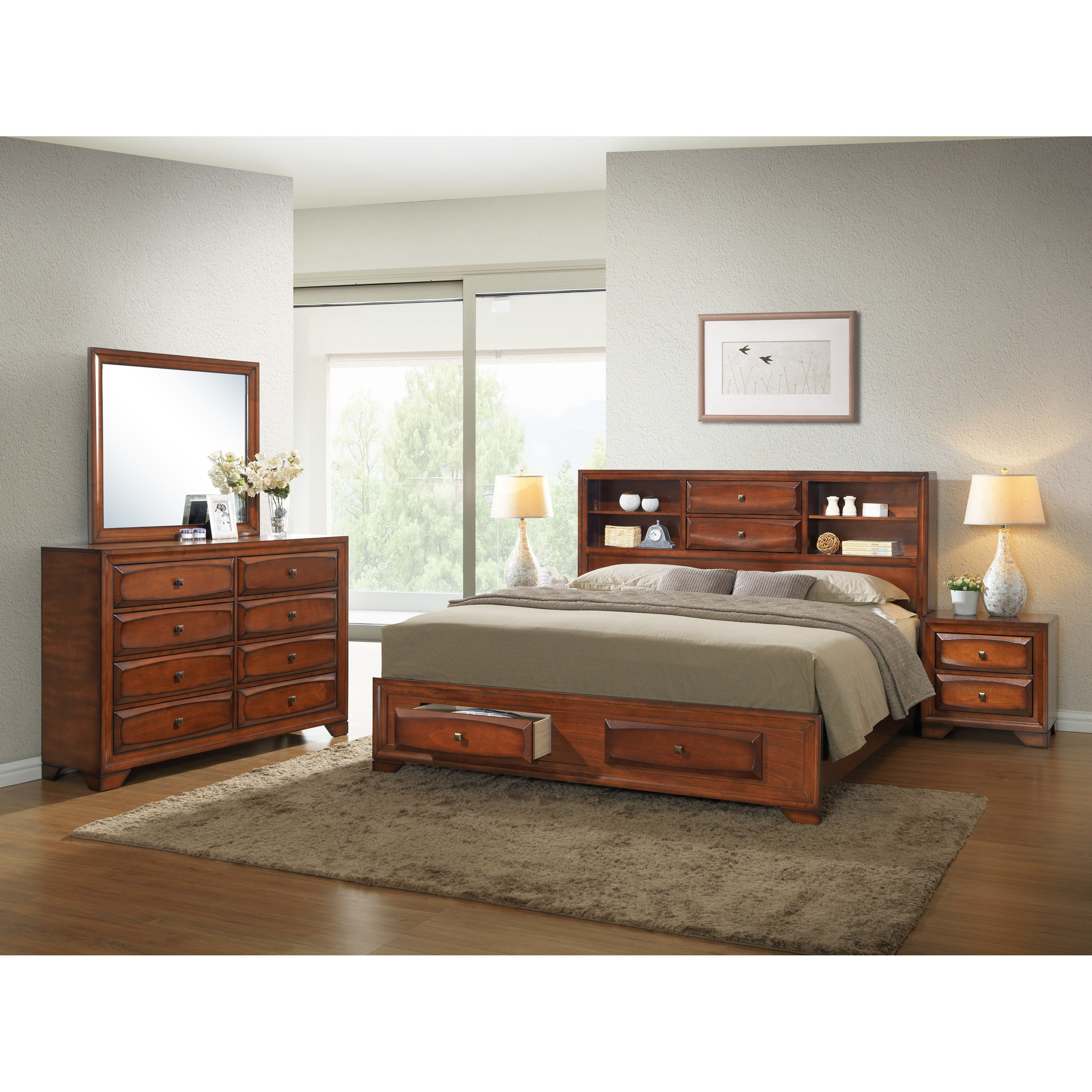 Best Roundhill Furniture Asger Queen Platform Customizable With Pictures