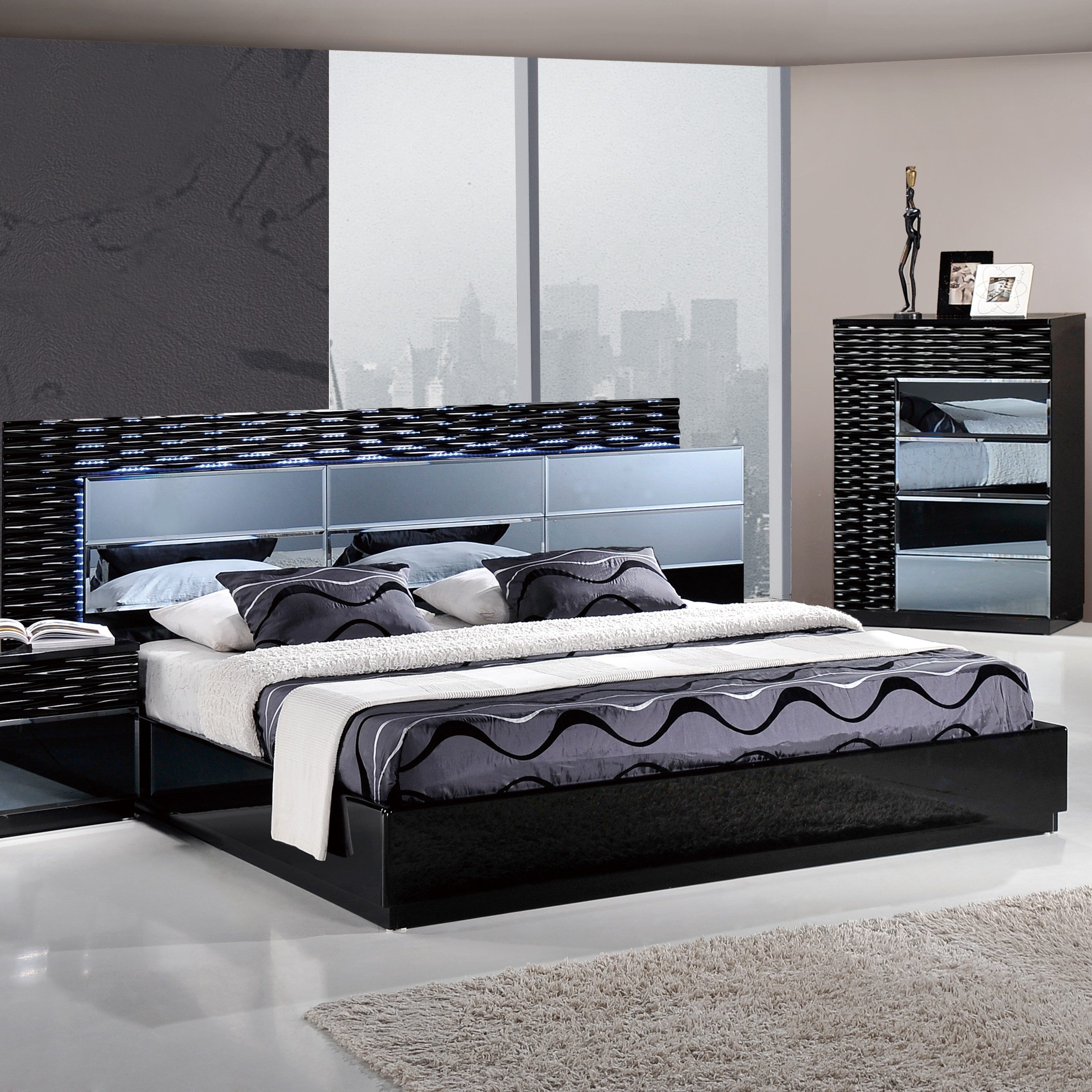 Best Global Furniture Usa Manhattan Panel Customizable Bedroom With Pictures