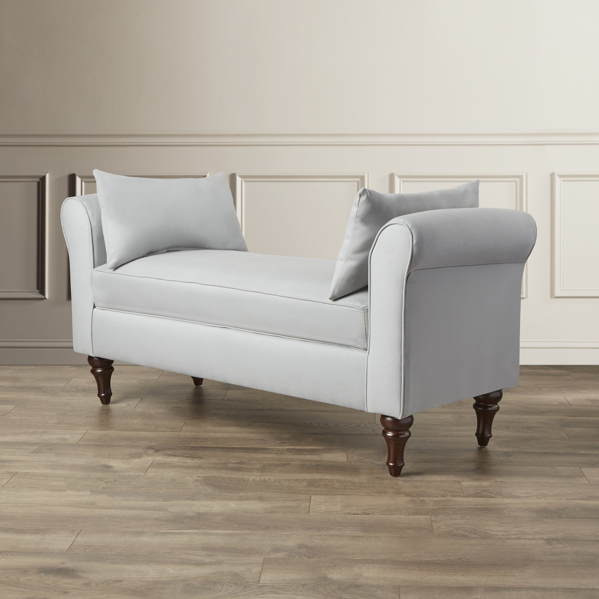 Best Darby Home Co Adelina Roll Arm Bedroom Bench Reviews Wayfair Ca With Pictures