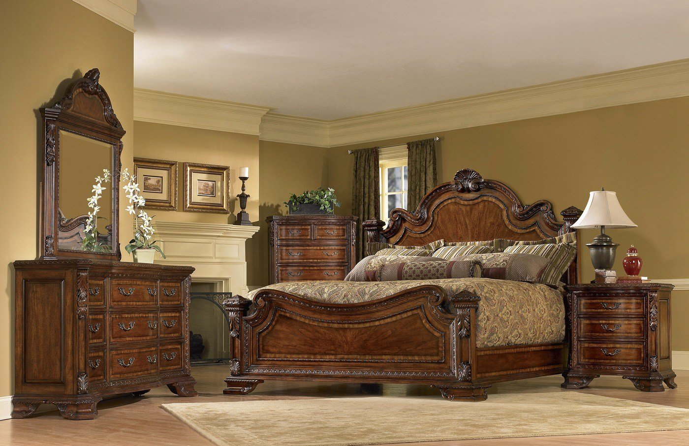 Best Old World Bedroom Set European Style Bedroom Furniture With Pictures