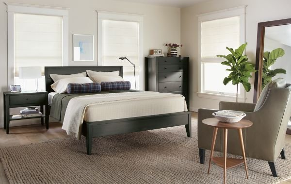 Best Calvin Bedroom In Charcoal Modern Bedroom Furniture With Pictures
