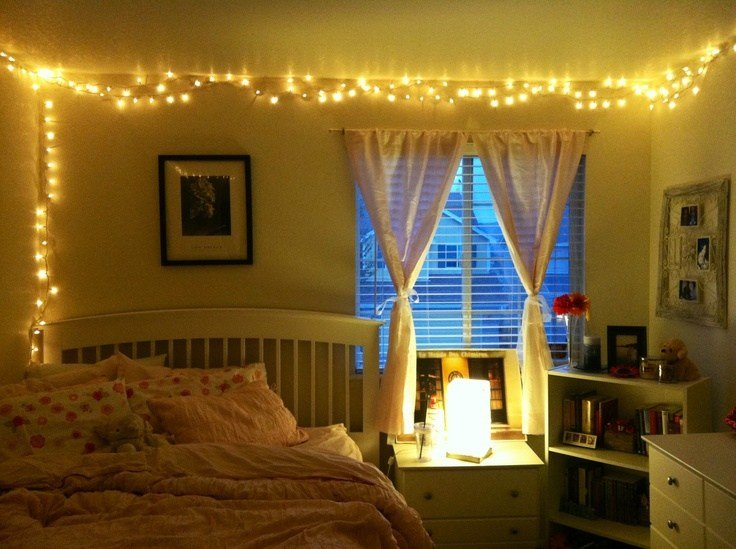 Best Christmas Lights In The Bedroom Shadows Of Fashion With Pictures