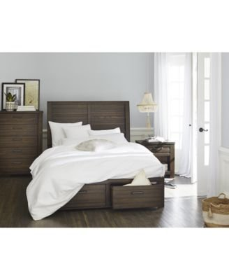 Best Furniture Emory Storage Platform Bedroom Furniture Collection Created For Macy S Furniture With Pictures