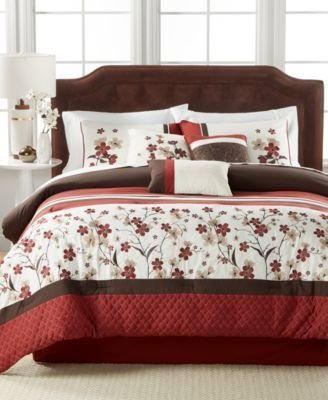 Best Hallmart Collectibles Closeout Eden 7 Pc Comforter Set With Pictures