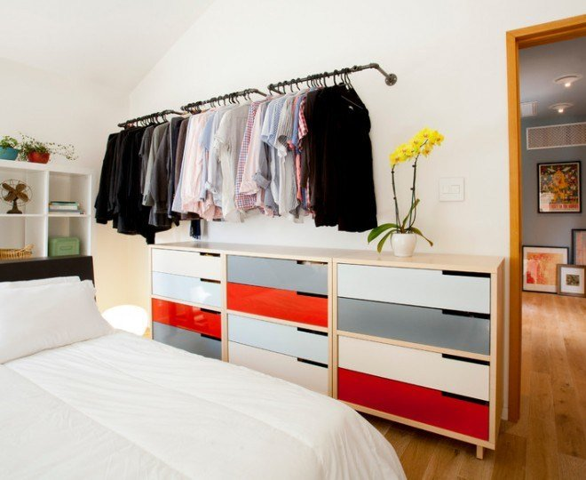 Best Gorgeous Clothes Storage Ideas Contemporary Bedroom With Pictures