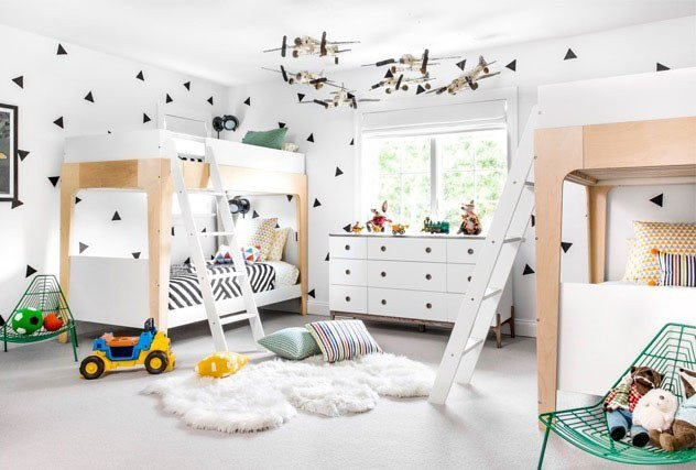 Best Nursery Idea A Graphic Black And White Kids' Room Update With Pictures