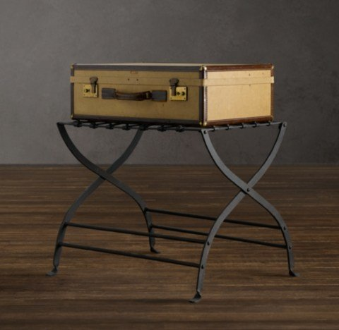 Best Avignon Metal Luggage Rack With Pictures