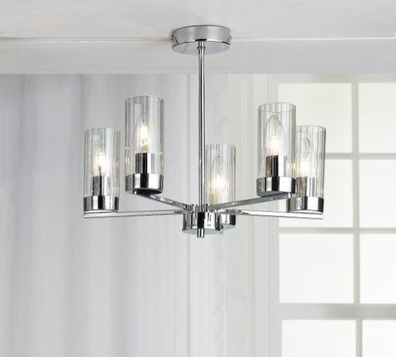 Best Heart Of House Wallis 5Light Ceiling Fitting Chandelier With Pictures