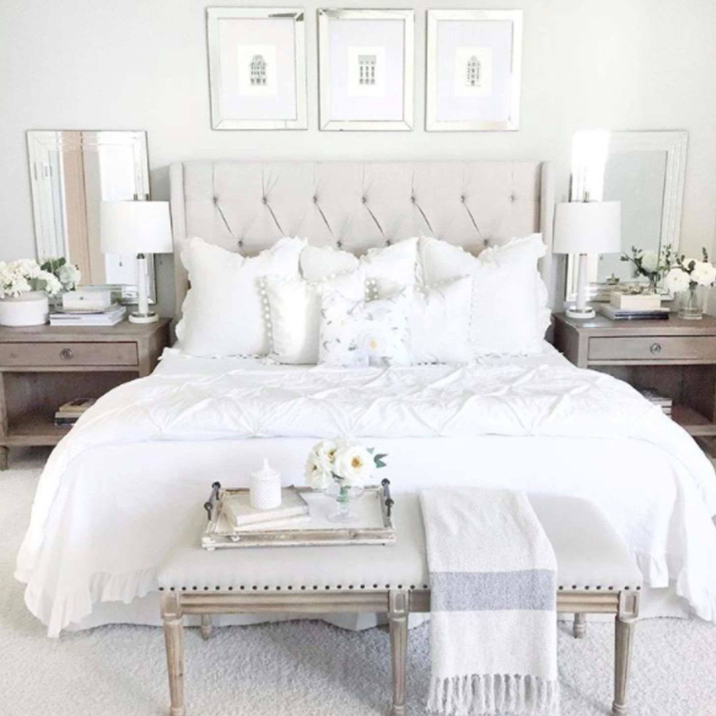 Best Light And Airy Bedroom Inspiration Sparkles And Shoes With Pictures