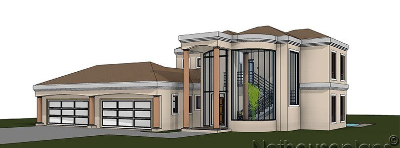 Best 5 Bedroom House Plan – T483D Nethouseplans With Pictures
