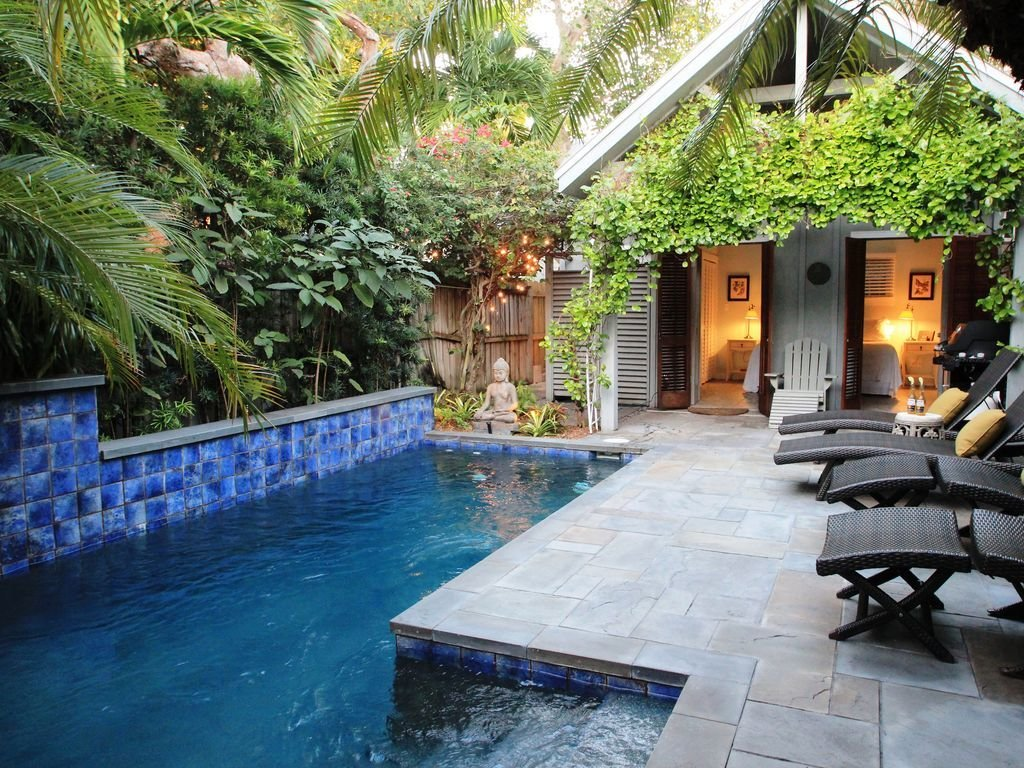 Best Key West Oasis Home W Seperate Cottage Very Private With Pictures