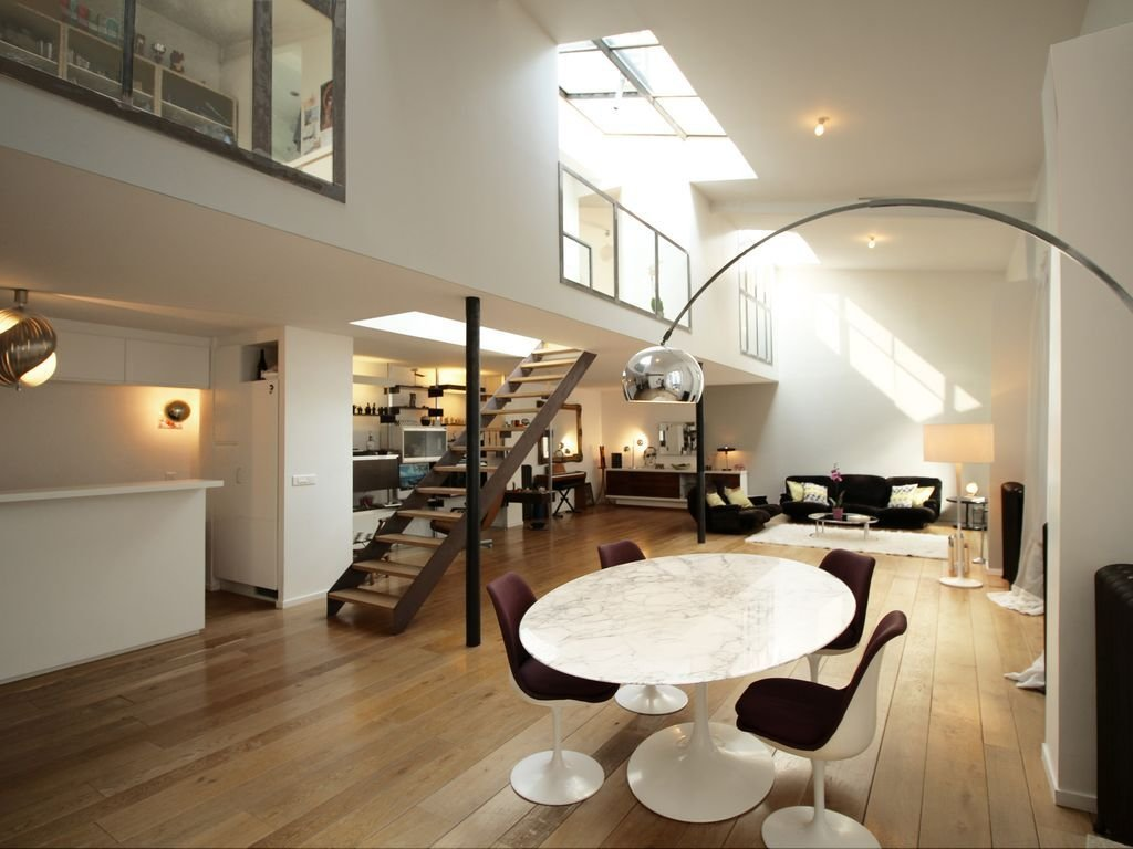 Best Large Loft In Paris In Private Courtyard Very Bright With Pictures