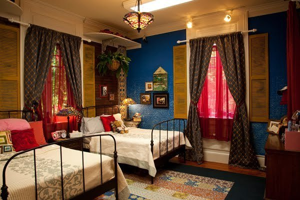 Best Mtv Real World New Orleans Interior Design Shutter Wall Oliveandlove With Pictures