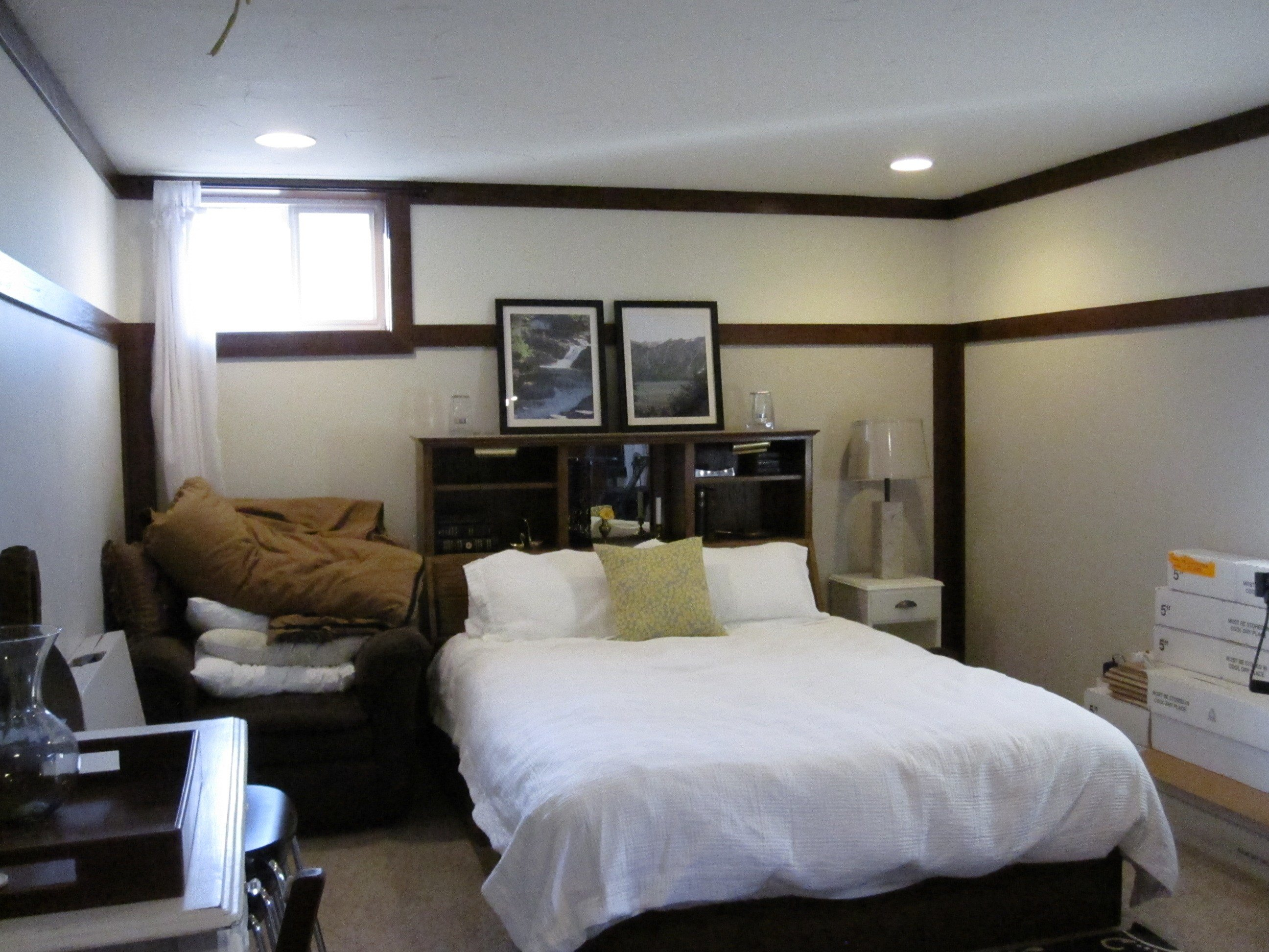 Best Basement Progress Large Bedroom With Pictures