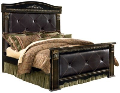Best Coal Creek King Mansion Bed Ashley Furniture Homestore With Pictures