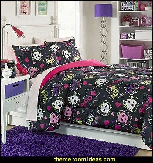 Best Decorating Theme Bedrooms Maries Manor Skull Bedding Skull Decor Skull Pattern Bedding With Pictures